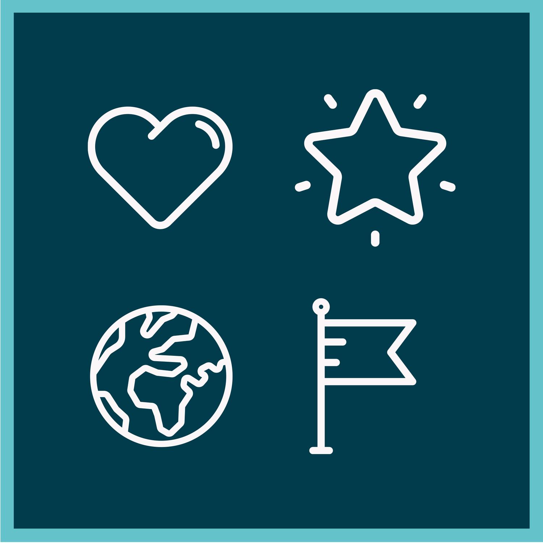 UniYH 29.1.2021 - icons on blue