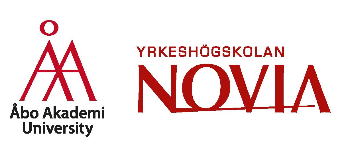 Åbo Akademi and Novia logos